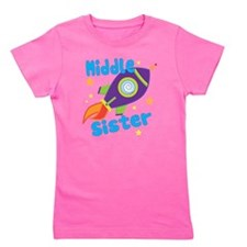 1middlesisterrocket Girl's Tee