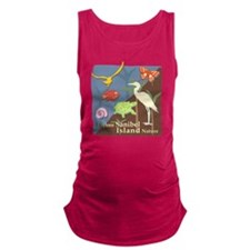 Sanibel_Nature Maternity Tank Top