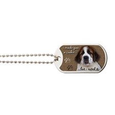 stbernardimadeyouacookieMAGNETS Dog Tags