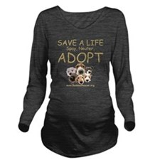 save_a_life_22 Long Sleeve Maternity T-Shirt