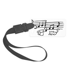 whitecatnotes Luggage Tag