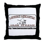 Lawrence Mercantile Throw Pillow