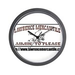 Lawrence Mercantile Wall Clock