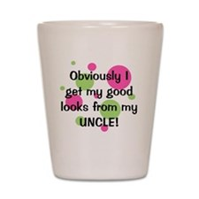 obviously_uncle_girl Shot Glass