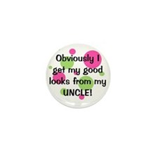 obviously_uncle_girl Mini Button