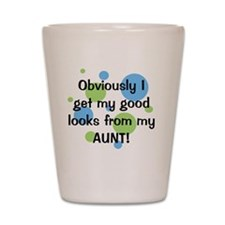 obviously_aunt_boy Shot Glass