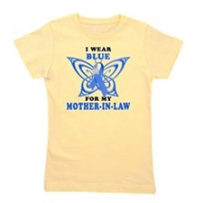 I Wear Blue for my Mother-In-Law Girl's Tee