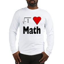 I heart math Long Sleeve T-Shirt