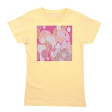 pink dots Girl's Tee
