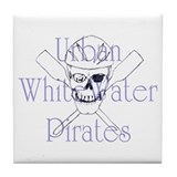 Urban WhiteWater Pirates Tile Coaster