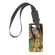 Our Lady of Guadalupe - Large Po Luggage Tag