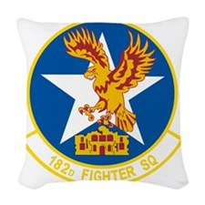 182_fighter_sq Woven Throw Pillow