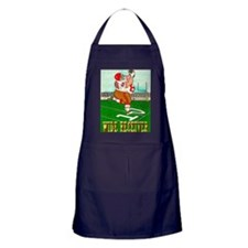 Wide Reciever greeting card Apron (dark)