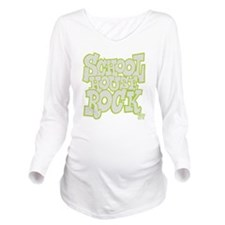 2-schoolhouserock_gr Long Sleeve Maternity T-Shirt