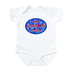 Juiceman (Heart) Bert Infant Bodysuit