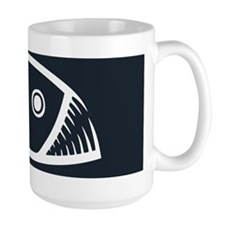 fish-fangs-OV Mug
