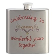 celebrating  35 years  Flask