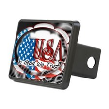 usa in God we trust 002 Hitch Cover