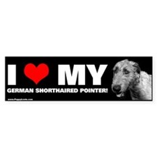"""I LOVE MY IRISH WOLFHOUND!"" Bumper Bumper Sticker"