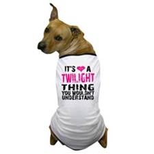 Twilight Thing v2 Dog T-Shirt