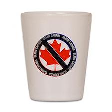 Blame Canada Shot Glass