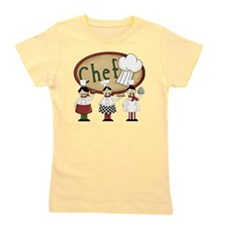 Three Chefs Girl's Tee