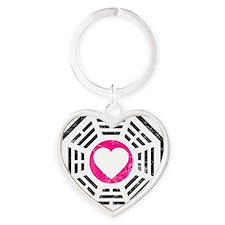 Dharma Love v2 Heart Keychain