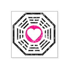 "Dharma Love v2 Square Sticker 3"" x 3"""