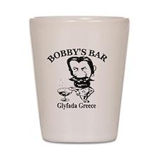 Bobbys-Bar-Logo Shot Glass