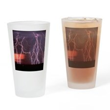Lightening Drinking Glass