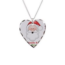 Santa I Got Mommy Necklace