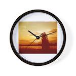 Golden Time Wall Clock