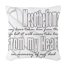 dad Woven Throw Pillow