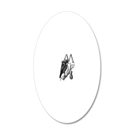 Murder_2 20x12 Oval Wall Decal