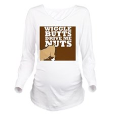 wigglebutts Long Sleeve Maternity T-Shirt