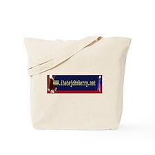 www.ihatejohnkerry.net Tote Bag