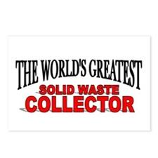 """""""The World's Greatest Solid Waste Collector"""" Postc"""