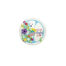worlds best twilight mom aqua Mini Button