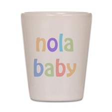 NOLA Baby Shot Glass