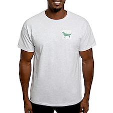 Paisley Golden Ash Grey T-Shirt