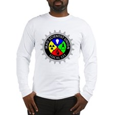 mad_scientist_union_logo_dark Long Sleeve T-Shirt