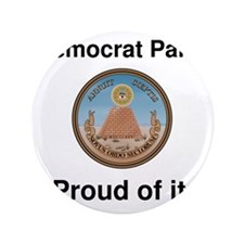 "proudOfIt-democrat 3.5"" Button"