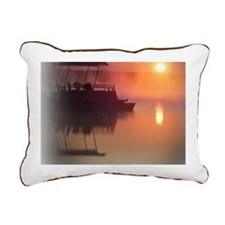 pontoon 2 Rectangular Canvas Pillow