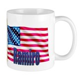 Ramiro American Flag Gift Small Mug