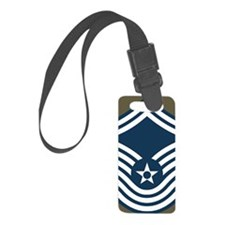 USAF-CMSgt-Old-Magnet-4 Luggage Tag