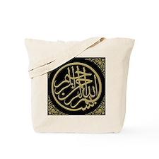 bism_gold_filla_on_black_lg2 Tote Bag