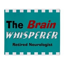 The Brain Whisperer Blanket Throw Blanket