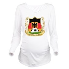 2-deutschland Long Sleeve Maternity T-Shirt