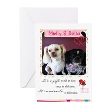 Love Note_0016 Greeting Cards (Pk Of 10)