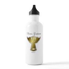 DSN-grad-ag-o Water Bottle